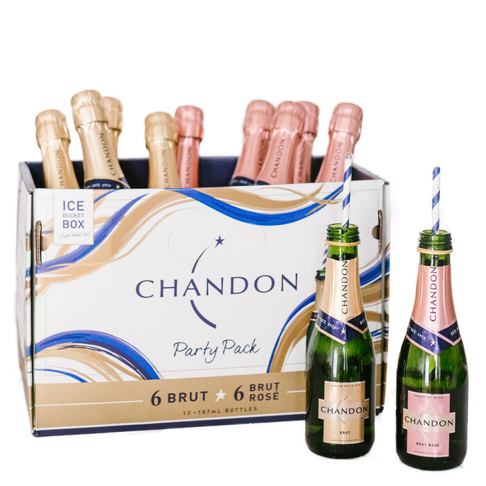 CHANDON BRUT/ROSÉ 12 MINIS PARTY PACK